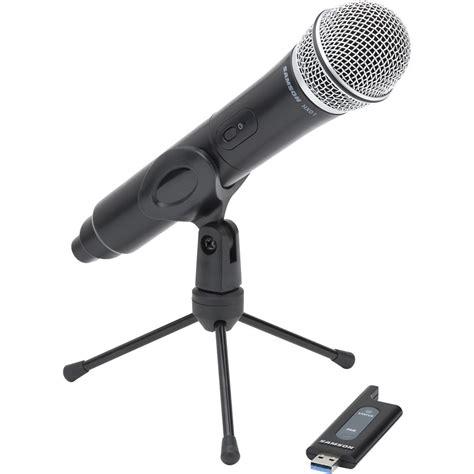 Samson Q2 Usb Microphone samson stage x1u digital wireless usb microphone stage x1u b h