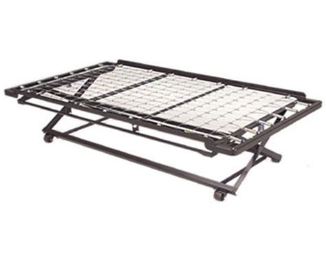 metal trundle bed trundle metal bed frame