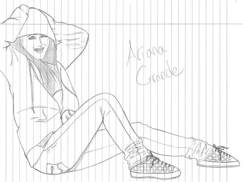 ariana grande coloring pages az coloring pages