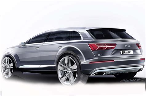 audi q7 second generation 7 seater suv debuts image 295894
