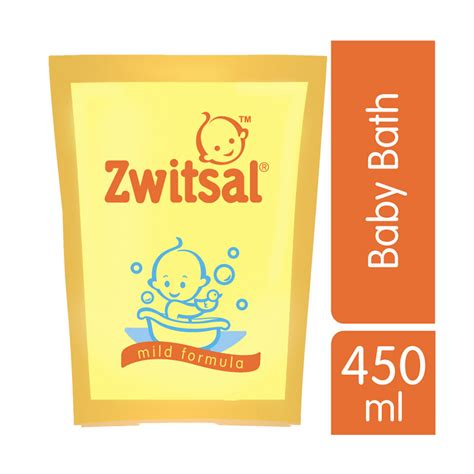 Zwitsal Baby Bath 2in1 450ml jual zwitsal baby bath classic pch rl 450ml 21155380