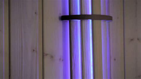 sauna led beleuchtung sauna farblicht led 54 beleuchtung