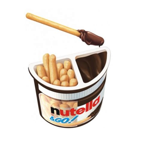 Nutella Go Nutella Go nutella go hazelnut spread with breadsticks 52g