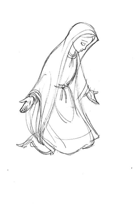 imagen virgen maria en blanco y negro carlos p 201 rez ag 220 ero septiembre 2010