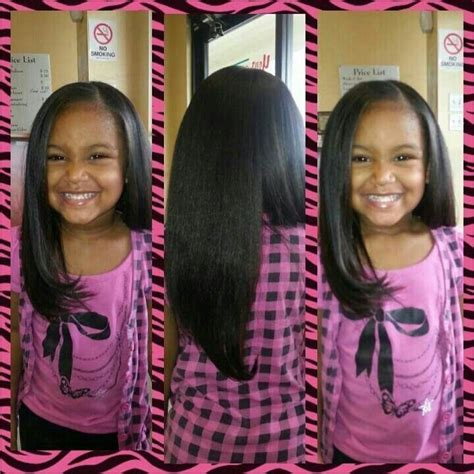 black hairstyles pressed hair 1000 images about girls pressed hair styles on pinterest