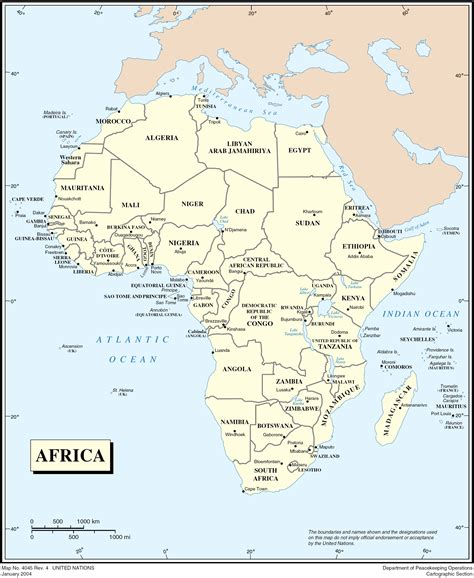 africa map hd image high resolution detailed political map of africa africa