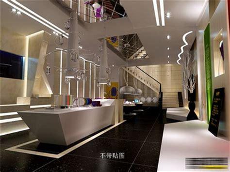 Jewellery Showroom 3d Model Free magasins de bijoux boutiques de luxe 3d model