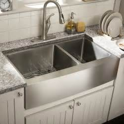 Farm Kitchen Sinks Schon 36 Quot Bowl Farmhouse Kitchen Sink Reviews Wayfair