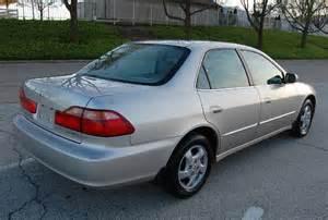 1998 Honda Accord 1998 Honda Accord Ex Leather Sunroof 1 Owner