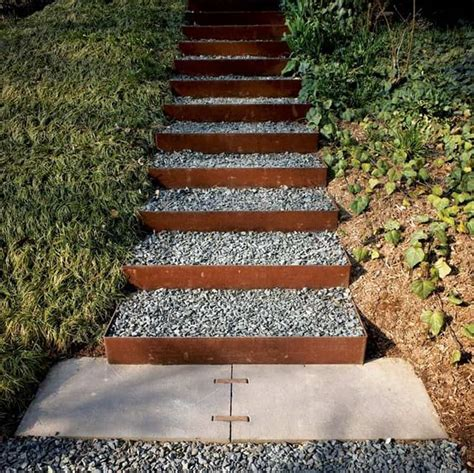 outside steps 40 ideas of how to design exterior stairways