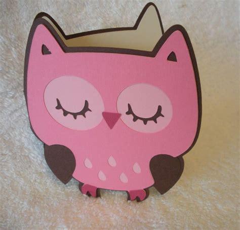 Cricut Owl Baby Shower by Create A Critter Cricut Owl Baby Shower Ideas For