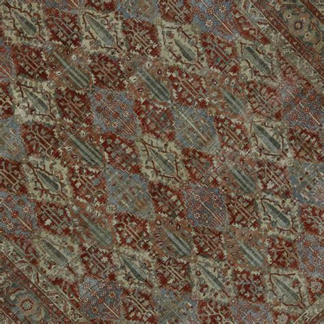 industrial rug distressed antique bakhtiari rug with modern industrial style for sale at 1stdibs