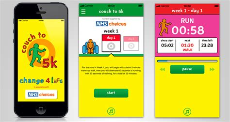 couch to 5 k nhs antbits 187 change4life couch to 5k app