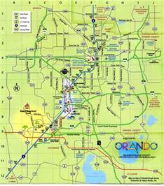 orlando florida map free printable maps