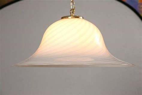 Glass Dome Pendant Light Murano Swirl Glass Dome Pendant Light For Sale At 1stdibs