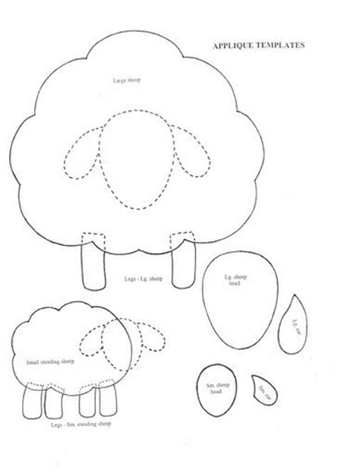 sheep template 25 best ideas about sheep crafts on