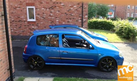 renault clio v6 modified modified renault clio 172 2000 modified cars fun