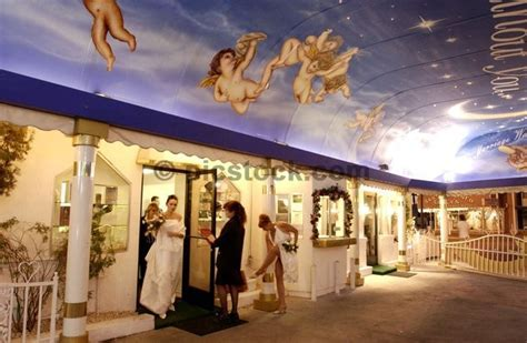 The Little White Wedding Chapel in Las Vegas   home of our