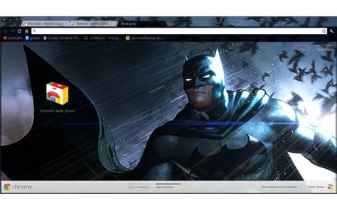 themes chrome batman batman chrome web store