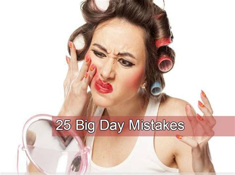 how to fix makeup mistakes for women over 50 todaycom these 25 wedding mistakes can turn your big day into a big