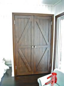 hand made custom reclaimed wood bi fold closet doors for a luxury home in malibu by mortise