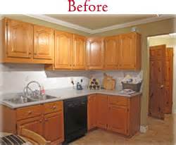 Offers kitchen cabinet refacing remodeling and countertops in the