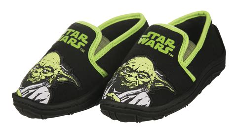 wars slippers boys wars yoda slippers