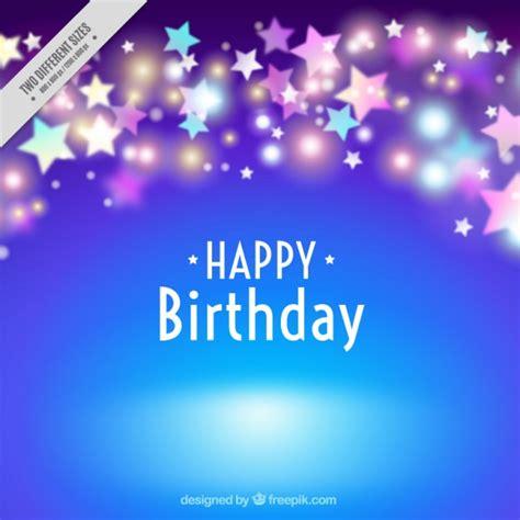 imagenes de cumpleaños brillantes fondo azul cumplea 241 os con estrellas brillantes descargar