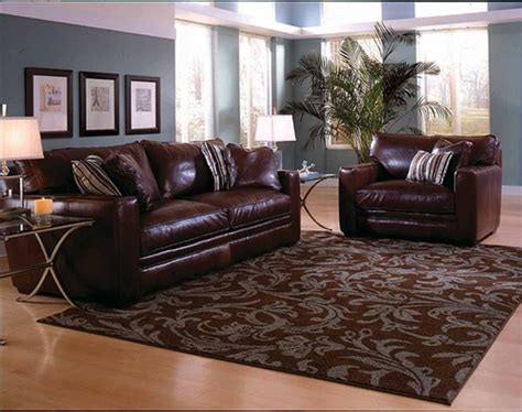 brown sofa set in home theater room wallpaper cheap brown couch londonlanguagelab com