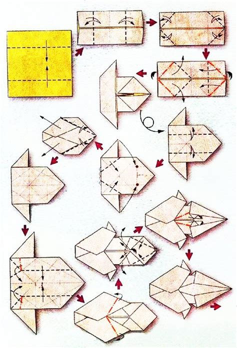 tutorial origami lion origami transformers diagrams origami free engine image