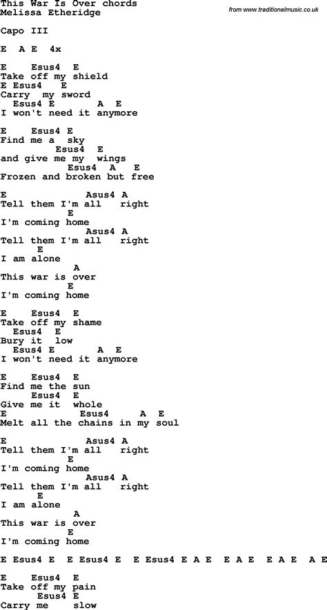 war is testo song lyrics with guitar chords for this war is
