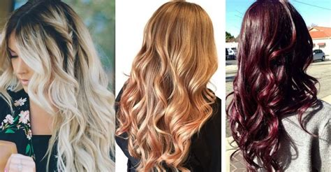 summer colors for hair top summer hair colors 2017 trends to follow this season