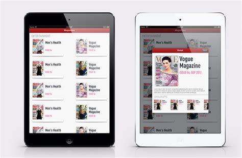 December 2012 Goodies Iphone And Ios App Ui Design Templates Magazine Template App