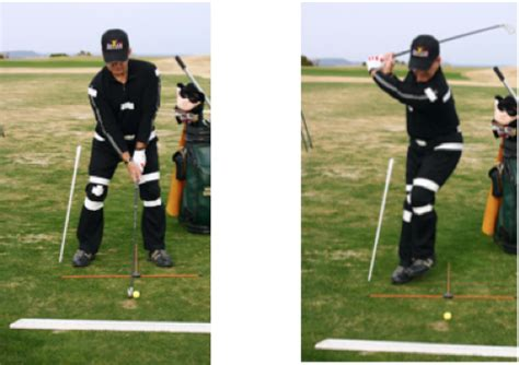 how to rotate hips in golf swing golf solution 5 load your back leg the right way