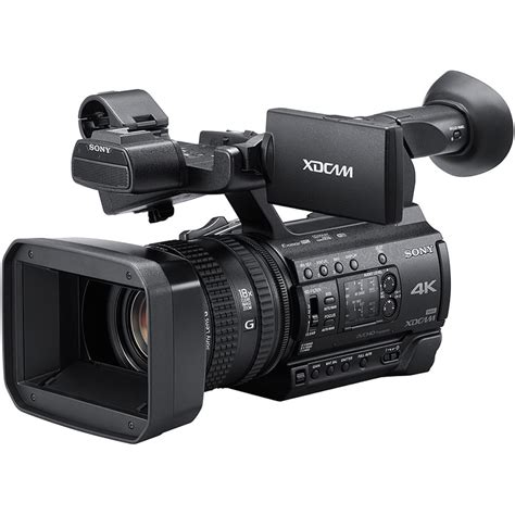 sony pxw z150 4k xdcam camcorder pxw z150 b h photo