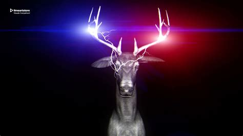 neon deer vj loops pack vol 40 full hd video loops edm