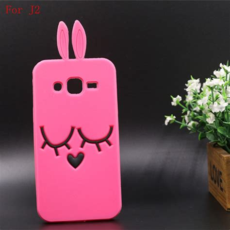 Casing Hp Samsung Galaxy J2 Prime Silikon 3d Boneka Line phone for samsung galaxy j1 ace lovely 3d rabbit cover silicon back phone