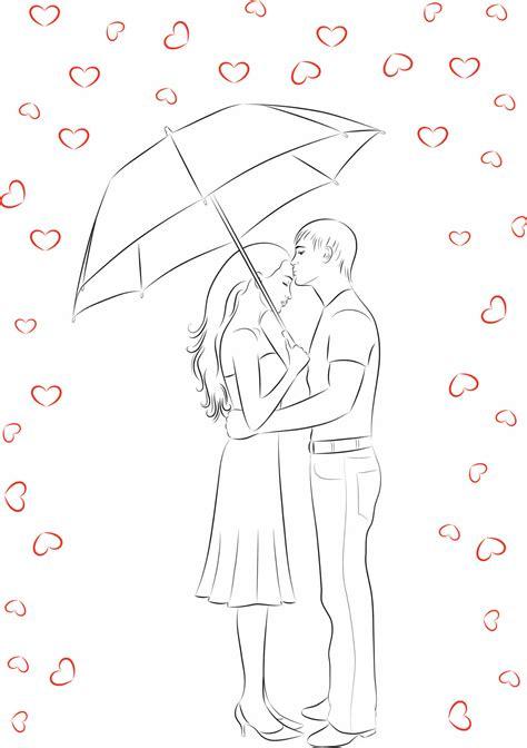 imagenes de amor para dibujar realistas dibujos para colorear de amor imujer