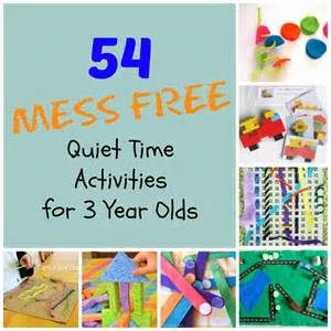 54 mess free time activities for 3 year olds how