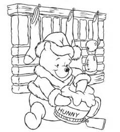 Winnie the pooh bear coloring pages winnie the pooh is a cute bear and