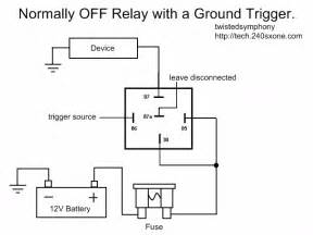 240sxone tech 187 blog archive 187 relay wiring basics