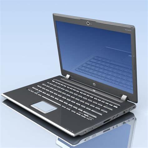 Laptop Dv2 3d model notebook hp pavilion dv2