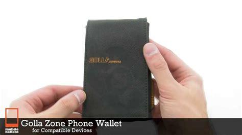 golla zone phone wallet youtube