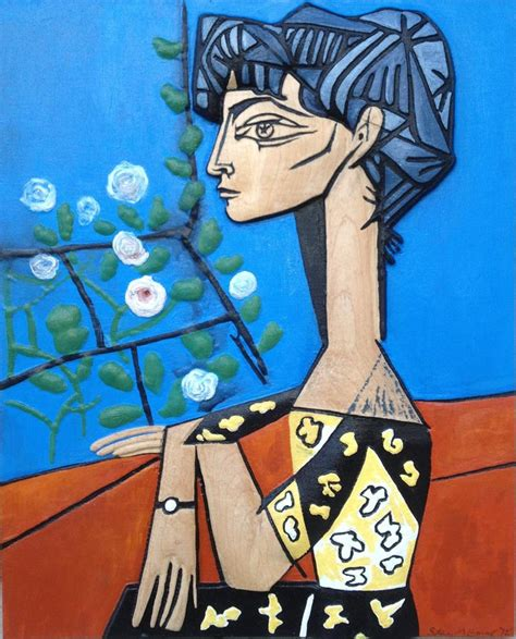 picasso paintings of jacqueline jacqueline picasso painting www imgkid the image