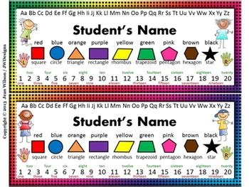 75 Best Images About Desk Plates On Pinterest The Student Desk Name Tags