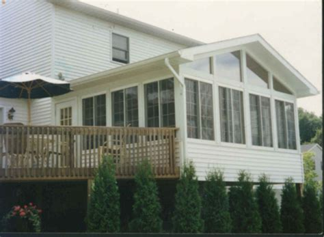 Sunroom On A Deck by Sunroom Deck Houses Plans Designs