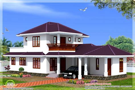 villa style house plans 3 bedroom 1873 sq ft kerala style villa kerala home design kerala house plans home