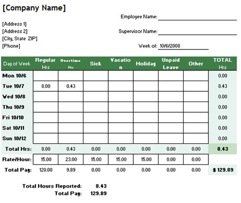 track work hours excel yoga spreadsheet