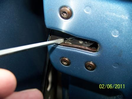 how to fix a stuck car door how to open a stuck glove box door on a volvo 850 votd