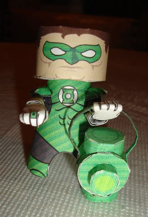 Green Lantern Papercraft - green lantern ham headz by ryo007 on deviantart